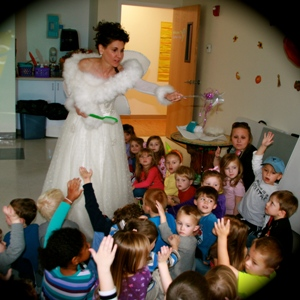 Tooth Fairy demo at Little Sprouts Pre-School