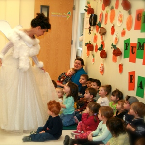 Tooth Fairy class demo at Little Sprouts Pre-School