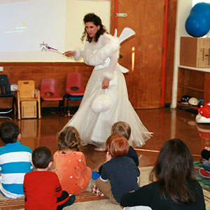 Tooth Fairy class demo at Memorial Pre-School