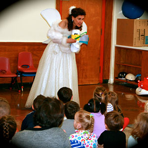 Tooth Fairy demo at Memorial Pre-School