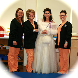 Tooth Fairy team at Memorial Pre-School